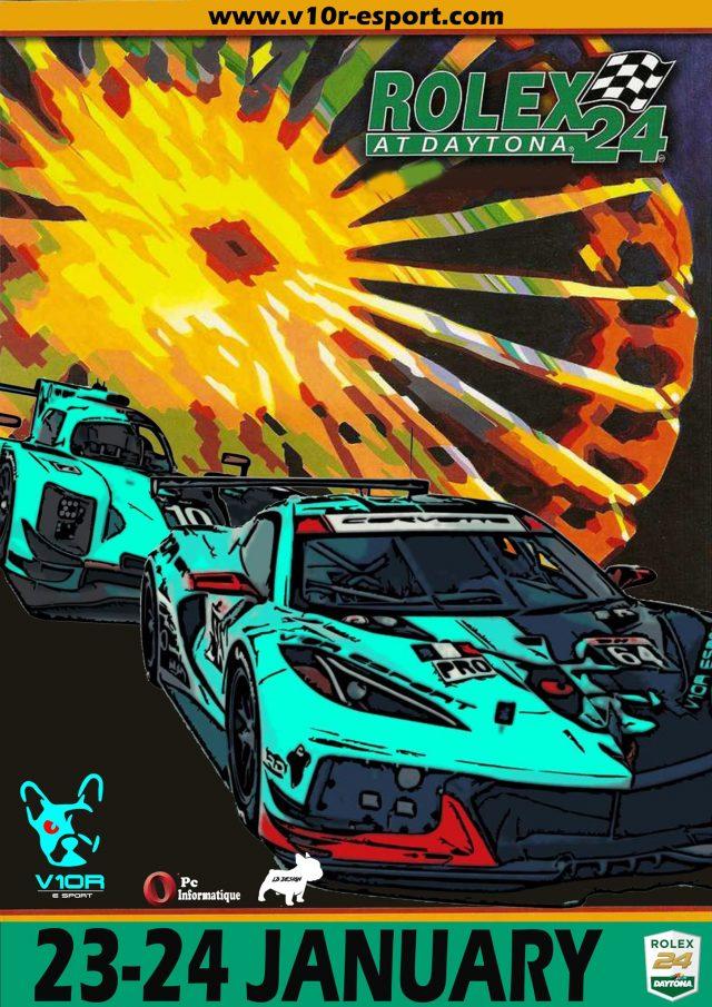 Live 24h de Daytona 2021 V10R-esport